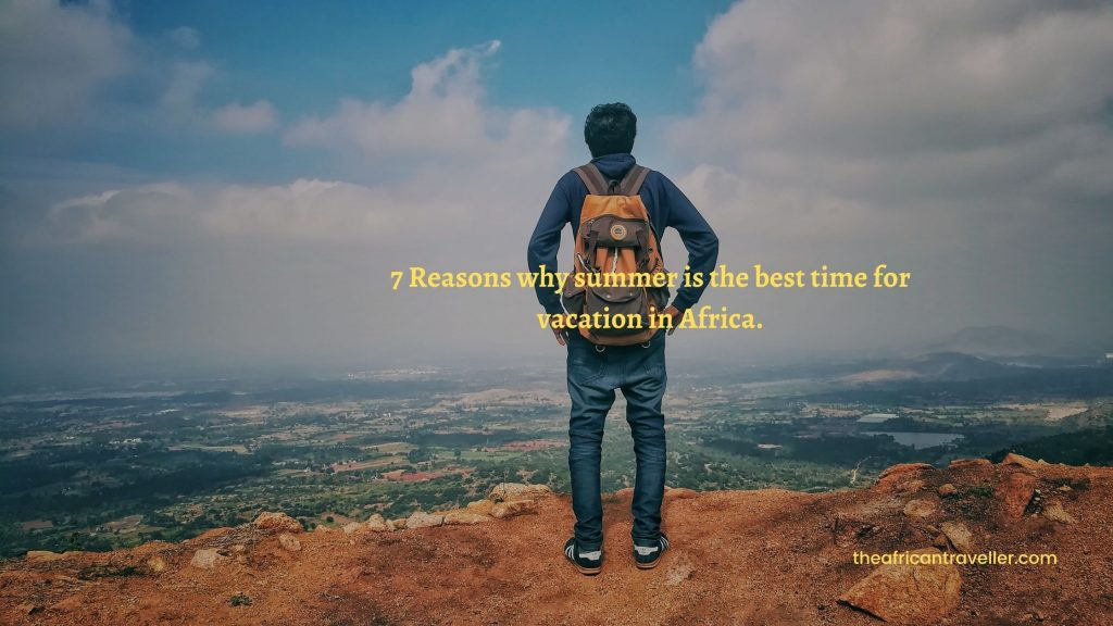 Summer, the best time for Vacation in Africa